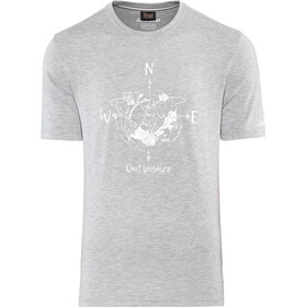 Schöffel Perth1 t-shirt Heren, silver filigree